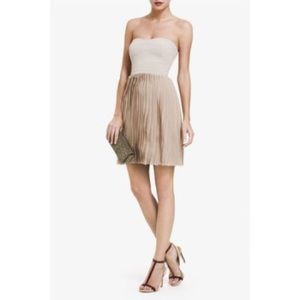"BCBG MaxAzria ""Angel"" Pleated Skirt Dress"